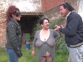 Japanisch Oma Groß Titten